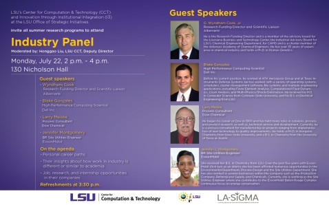 LSUindustrypanel